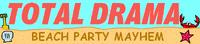 Total Drama Beach Party Mayhem logo