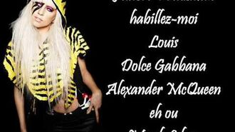 Lady Gaga - Fashion (Lyrics)-0