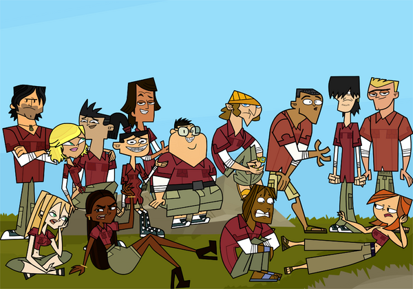Total drama revenge of the interns ii group photo by tdfanfrench-d935nlv
