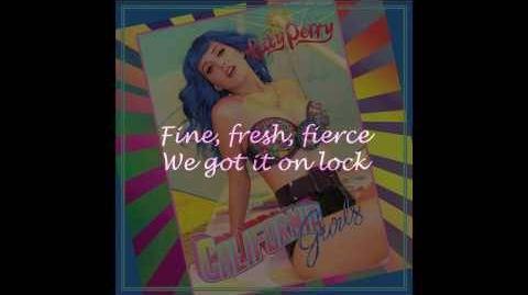 Katy Perry - California Gurls ft. Snoop (Lyric Video)
