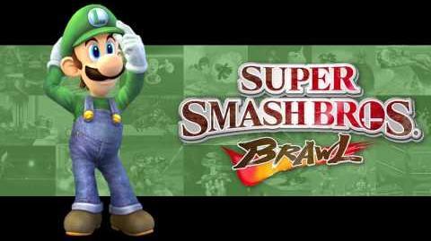 Luigi Circuit - Super Smash Bros. Brawl