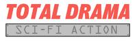 Total Drama Sci-Fi Action logo