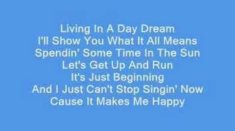 Drake Bell - Makes Me Happy Lyrics