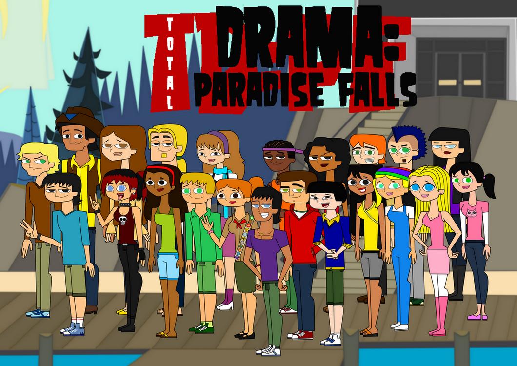 total drama paradise falls total drama island fanfiction wikia