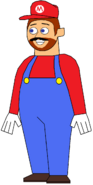 Wentworth Mario Costume