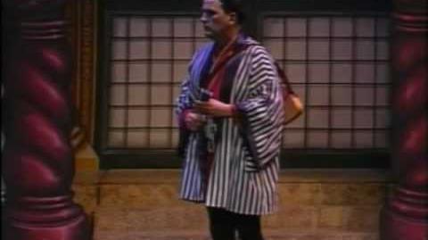 """A Wandering Minstrel, I"" from Gilbert & Sullivan's The Mikado"