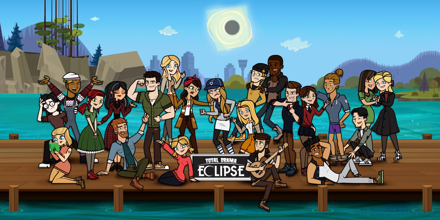 74660803b12 Total Drama Eclipse | Total Drama Island Fanfiction wikia | FANDOM ...