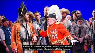 Major-General's Song from The Pirates of Penzance - live and with lyrics!