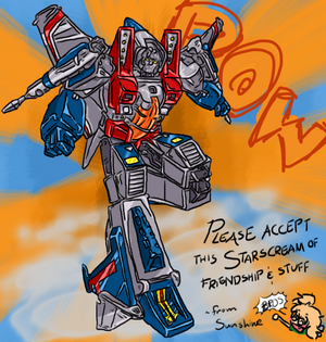 Starscream of Friendship