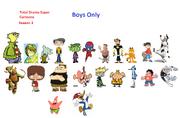 Total Drama Super Cartoon Season 1 Remake revised