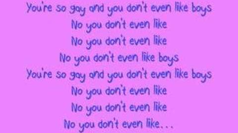 Katy Perry - Ur So Gay W Lyrics