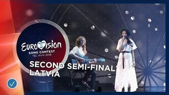 Carousel - That Night - Latvia - LIVE - Second Semi-Final - Eurovision 2019
