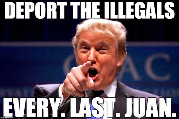 Funny Memes For Every Situation : Image funny donald trump meme deport the illegals every last
