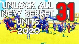 TABS - HOW TO UNLOCK ALL SECRET UNITS - NEW!!! 31 SECRET UNITS for 2020