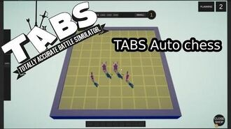 TABS auto chess - totally accurate battle simulator