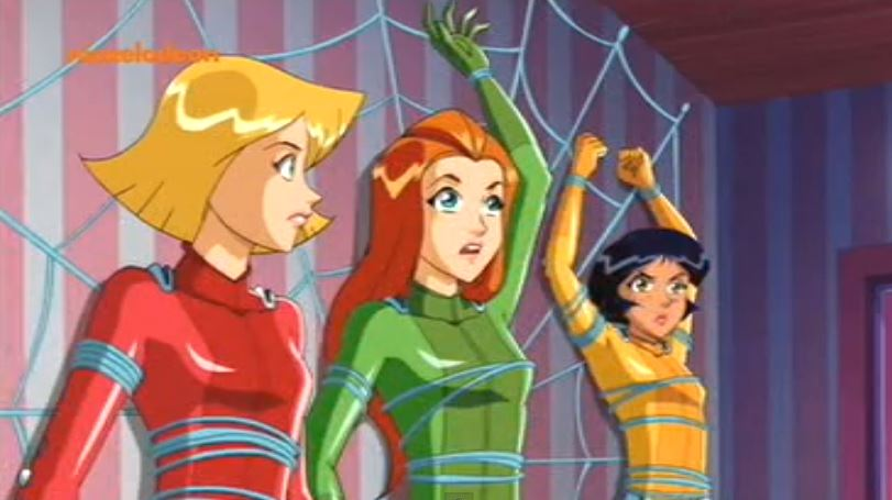 Web sling ring totally spies wiki fandom powered by wikia - Deguisement totally spies adulte ...