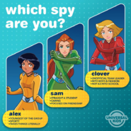 Which spy are you