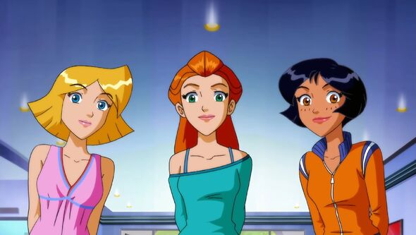 Pics Query Totally Spies Sam