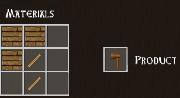 Total Miner wood hatchet