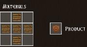 Total Miner wood shield