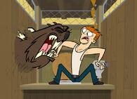 Scott i bóbr w pokoju zwierzeń