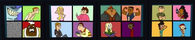 Total Drama Revenge of the Island Contestants Screen