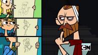 Trzy karykatury