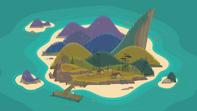 Obóz Wawanakwa z lotu ptaka