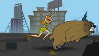 S02E00 Izzy zaczyna ganiać niedźwiedzia