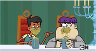 Dave i Max piją tłuste kąski