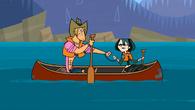 S01E21 Geoff i Gwen w canoe