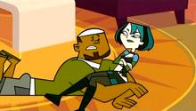 DJ ratuje Gwen od kowadła