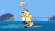 Jazda na nartach wodnych