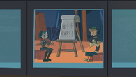 S01E19 Gwen i Duncan na monitorze
