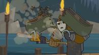 Canoe pocięte na pół