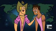 Geoff i porażony Brody