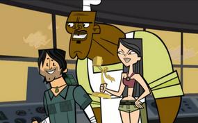 S04E10 Heather zamierza wyrzucić Chrisa i Chefa z zeppleina