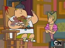 S02E18 Geoff i Owen na krześle elektrycznym