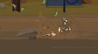 S01E13 Harold uderza w skałę