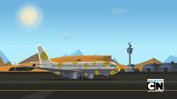 Smutny samolot