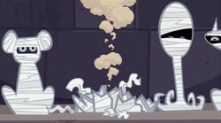 S03E01 Zniszczona mumia psa