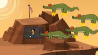 S05,2E11 Krokodyle na szczycie