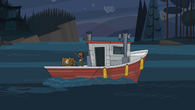 Courtney odpływa Łódką Przegranych