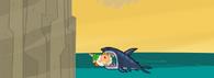 Rekin zjada Owena w grze