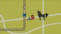 S03E25 Heather, Alejandro i koń