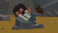Beardo odpoczywa
