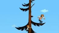 Skakanie po drzewach