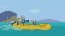 S04E05 Jo i Zoey na pontonie