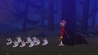 Kolonia królików i Cameron