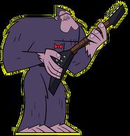 Wielka Stopa z gitarą